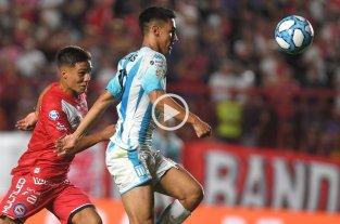 Argentinos Juniors y Racing igualaron 1 a 1