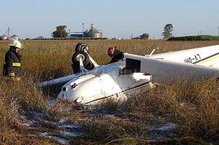 Se estrelló una avioneta en el sur de la provincia de Santa Fe