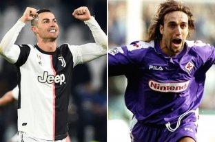 Cristiano Ronaldo marcó dos goles y se acerca a un récord de Batistuta