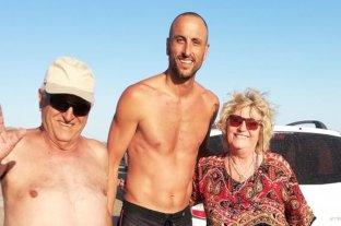 Manu Ginóbili y Pepe Sánchez socorrieron a una abuela que se cayó en un médano