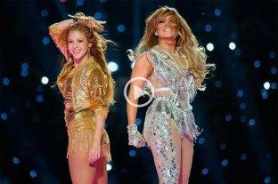 Video: reviví el show de Jennifer López y Shakira en el Súper Bowl