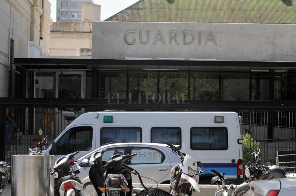 Ambos heridos fueron asistidos en el Cullen Crédito: Mauricio Garín