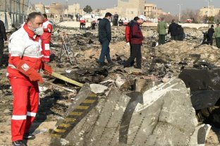 Irán excluye a Ucrania de la investigación del derribo del avión por filtrar un audio del piloto