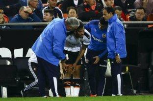 Grave lesión de Garay, quien sufrió la rotura de ligamentos en la rodilla derecha