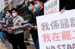 Coronavirus: médicos de Hong Kong exigen el cierre de la frontera con China