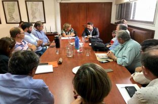 Castelló y Frana recibieron a intendentes y presidentes comunales