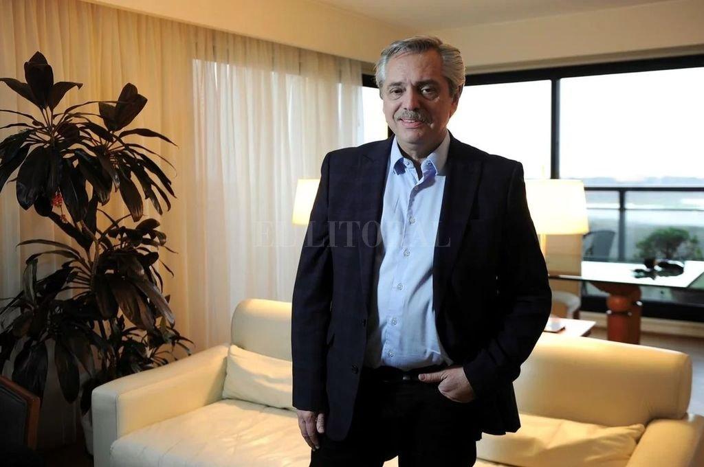 Alberto Fernández, un presidente porteño. Crédito: Archivo El Litoral