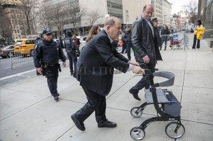 Caso Weinstein: la defensa sostiene que la denunciante consintió el contacto físico