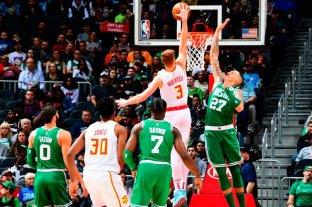 Los Celtics se quedaron con el duelo ante los Hawks