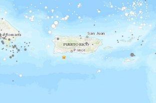 Sismo de magnitud 5 sacude Puerto Rico