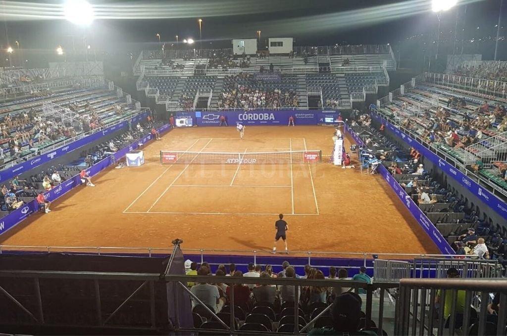 El escenario de la segunda edición del certamen ATP 250 que tiene lugar en la capital cordobesa.   Crédito: Gentileza ATP.