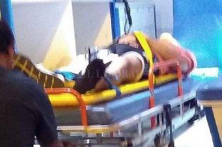 Se cayó por el balcón mientras robaba: está internado con custodia policial
