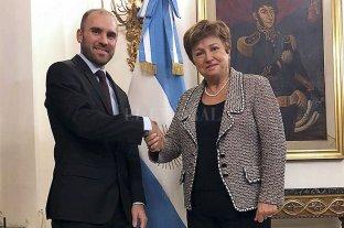 Guzmán dijo que el gobierno seguirá dialogando estrechamente con el FMI