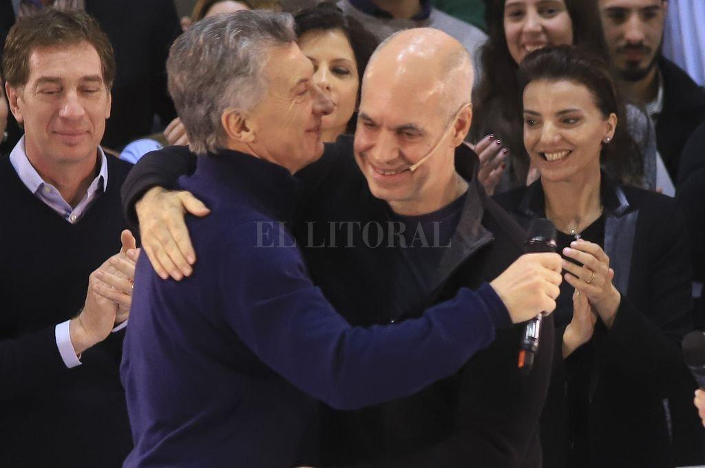 Mauricio Macri y Horacio Rodríguez Larreta. <strong>Foto:</strong> NA