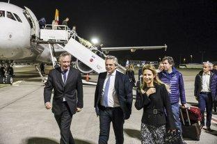 Intensa agenda del presidente Alberto Fernández en París