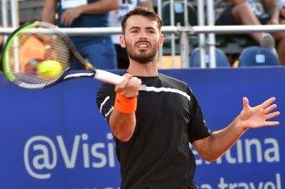 Londero inició con éxito la defensa del título en el Córdoba Open