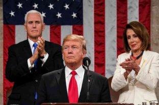 """Trump en su discurso del Estado de la Unión: """"Lo mejor está por venir"""""""