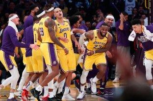 Los Lakers continúan a paso firme en la Conferencia Oeste