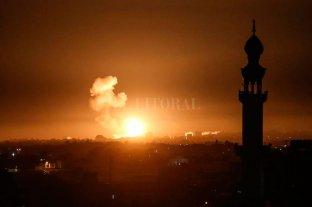 Israel bombardeó objetivos de Hamás en Gaza