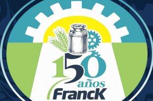 Franck: presentaron el logo del 150 aniversario