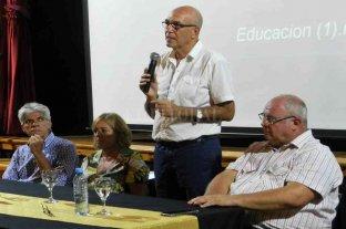 Romang fue sede del encuentro departamental educativo