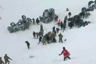 Al menos ocho muertos por un alud de nieve