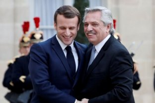 Macron expresó su apoyo frente a las negociaciones de Argentina con el FMI