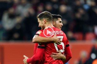 Alario marcó en la clasificación de Leverkusen en la Copa de Alemania