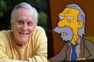 """De """"Espartaco"""" a """"Los Simpsons"""": Kirk Douglas no se privó de nada"""
