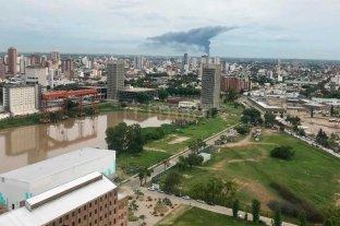 Impactantes imágenes del incendio en Recreo Sur