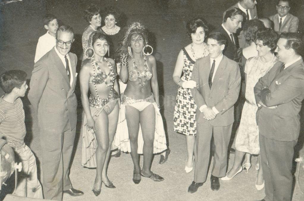 Carnaval de Avenida Freyre en 1962.  <strong>Foto:</strong> Archivo El Litoral