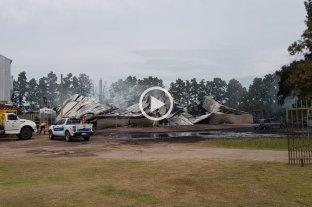 Trágico incendio en Recreo