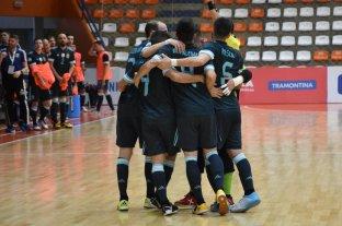 Argentina derrotó a Uruguay y se clasificó al Mundial de futsal