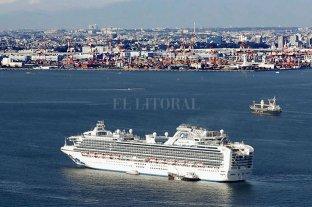 Japón confirma 61 casos de coronavirus en el crucero en cuarentena