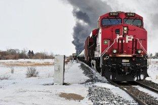 Canadá impondrá límites de velocidad en trenes que transportan mercancías peligrosas