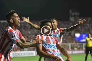 Los goles de Unión ante Atlético Mineiro