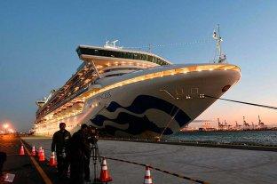 Confirman que hay un argentino con coronavirus en el crucero amarrado en Japón