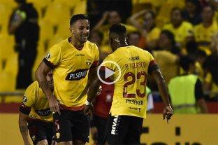 Barcelona de Ecuador goleó a Sporting Cristal de Perú por la Copa Libertadores