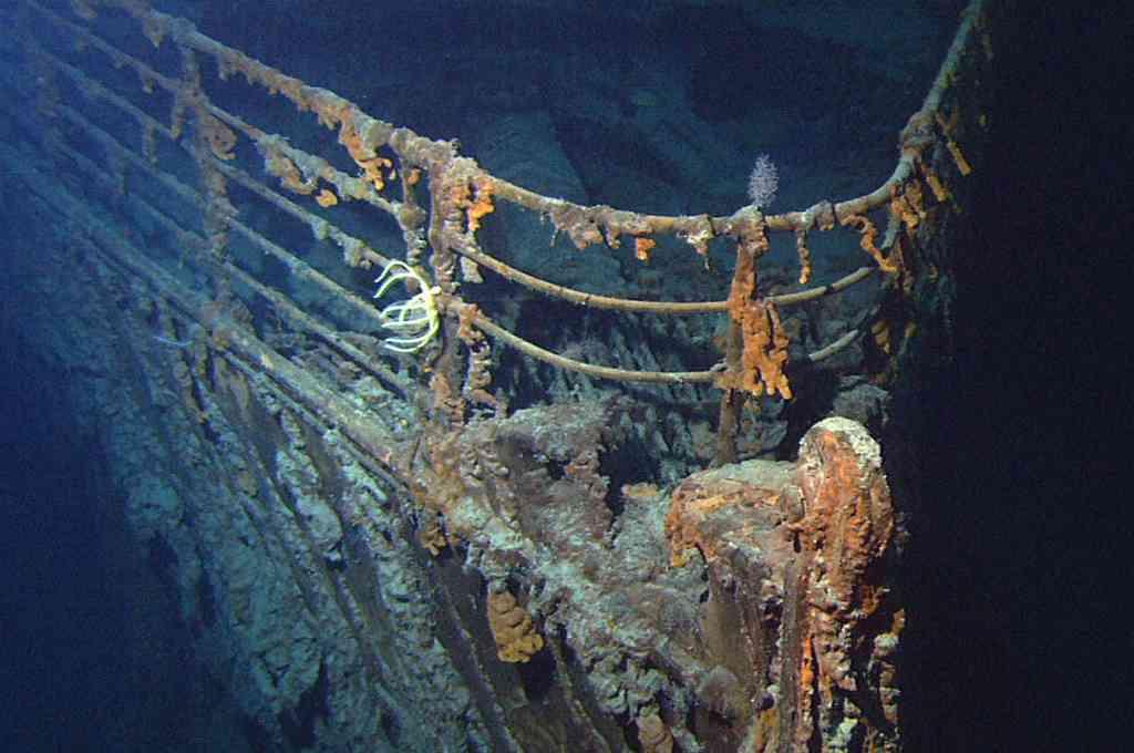 Ocultaron la información: el Titanic fue embestido por un submarino inglés