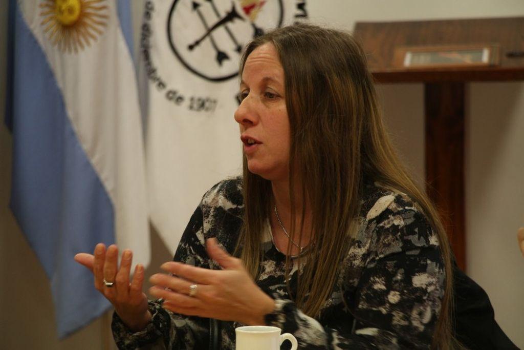 Fiscal Verónica Zamboni Crédito: Gentileza
