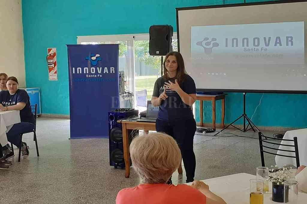 Florencia Alberto, presidenta de la fundación, habló con El Litoral y dio detalles de la campaña. <strong>Foto:</strong> Gentileza