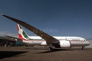 """México considera """"rifar"""" el avión presidencial"""