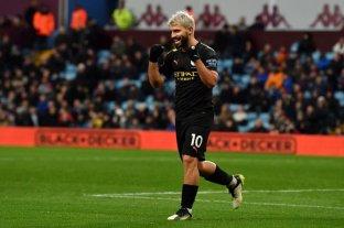 """El """"Kun"""" Agüero recibió el premio al mejor jugador del mes en la Premier League y marcó un récord"""