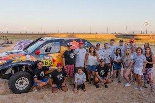 Otra aventura del Santa Fe Dakar Team