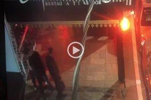 """En un video se ve que los rugbiers """"festejan y se abrazan"""" tras el crimen de Fernando Báez Sosa"""