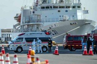 Confirmaron tres nuevos casos de coronavirus en el crucero amarrado en Japón