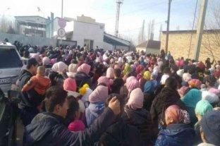 Al menos ocho muertos en enfrentamientos entre residentes de un pueblo de Kazajistán