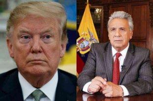Lenín Moreno será recibido por Trump en Washington