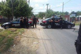 Policía baleado en Rosario