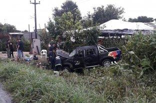 Volcó en Tucumán la camioneta de los técnicos de Damas Gratis